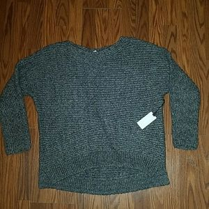 Astr The Label Wool Blend Chunky Knit Sweater